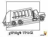 Coloring Truck Garbage Construction Colouring Trucks Vehicles Yescoloring Paper Grimy sketch template