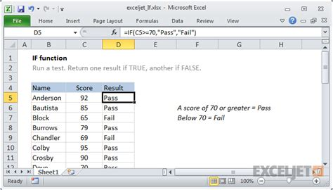how to use excel how to use the excel if function exceljet