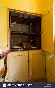 a, victorian, era, dumbwaiter, , , , dumb, waiter, elevator, lift, for