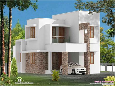 simple house plans simple slanted roof modern house simple modern house plan