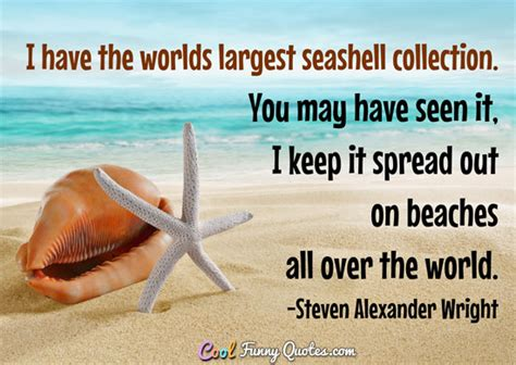 worlds largest seashell collection