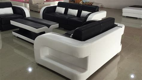 Real Leather Sofa Sets Sale by Black And White Color New Model Sofa Sets Pictures Buy