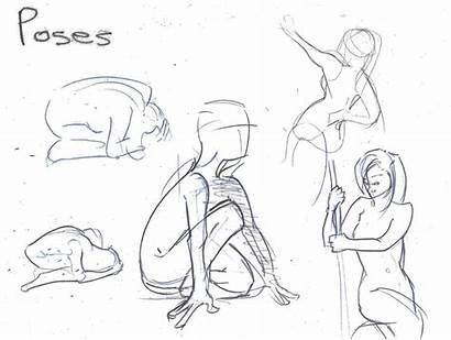 Poses Sketches Animation Pose Circus