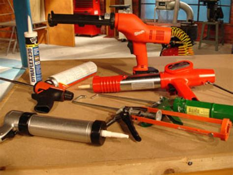 tips  choosing   caulk guns diy