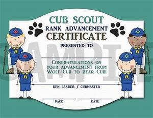cub scout certificate templates just bcause With cub scout certificate templates