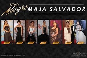 Star Magic Ball Throwback: Maja Salvador through the years