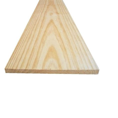 home depot pine 1 in x 5 in x 6 ft select pine board 625431 the home depot