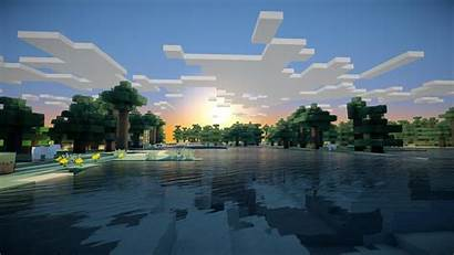 Minecraft Sunrise Desktop Wallpapers Backgrounds Mobile