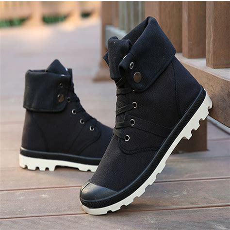 The Bobby Store New Fashion Men Casual High Top Canvas