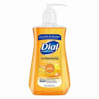 Soap Dial Liquid Hand Antibacterial Gold Oz