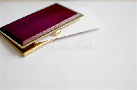 Wood And Gold Business Card Holder Stock Photo Visiting Card Gift Shop American Express Business Gold Foreign Transaction Fee Google Organizer Maker In Brampton Types Of Finishes Exeter Chiefs Shark Tank Best Leather Holders
