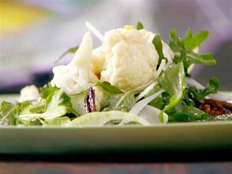 pickled cauliflower salad  chanterelles  fennel