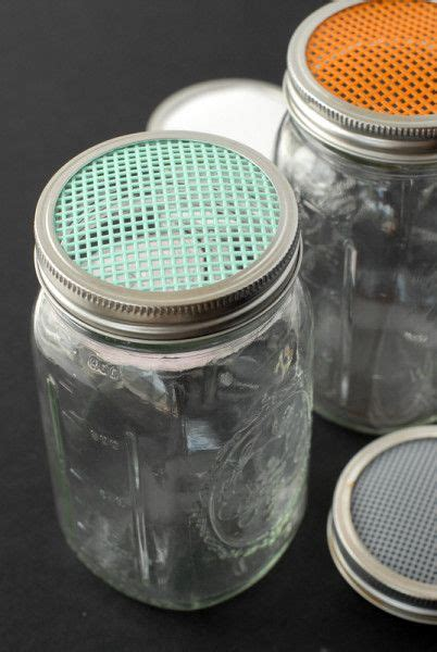sprouting  homemade sprouting jars tutorial diy