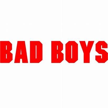 Bad Boys Fonts Logos Famous Movies Titles