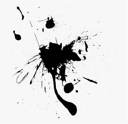 Ink Splash Splatter Background Transparent Cartoon Paint