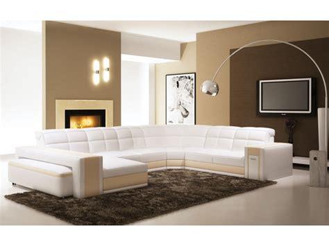 canapé chambery canapé panoramique en cuir chambery canapés en u