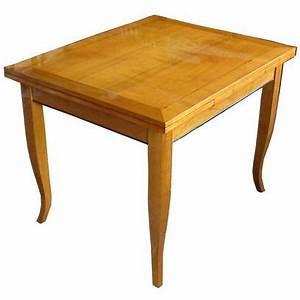 Tisch 80 X 120 Ausziehbar : kleiner esstisch 120 x 80 im biedermeierstil ausziehbar herstellbar in kirschbaum nussbaum ~ Bigdaddyawards.com Haus und Dekorationen