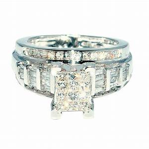 princess cut diamond wedding ring 3 in 1 engagement With wedding bands for princess cut engagement rings