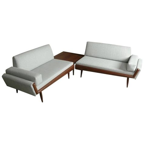 sectional sofa with corner table adrian pearsall sectional sofa with corner table at 1stdibs