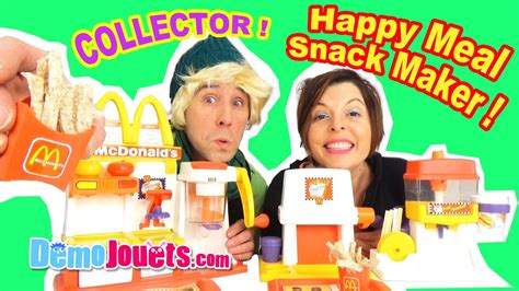 cuisine mcdo jouet mega mcdonalds meal snack maker set special
