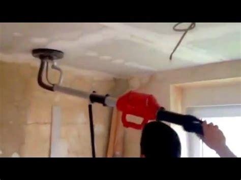Trockenbau Decke Schleifen, Tipp Nach Dem Spachteln Youtube