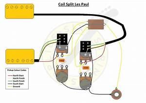 Six String Supplies  U2014 Coil Split Les Paul Wiring