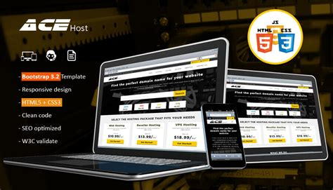 acehost html website template hosting html template