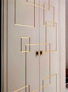 25 best ideas about wardrobe doors on pinterest built With best brand of paint for kitchen cabinets with metal leaves wall art