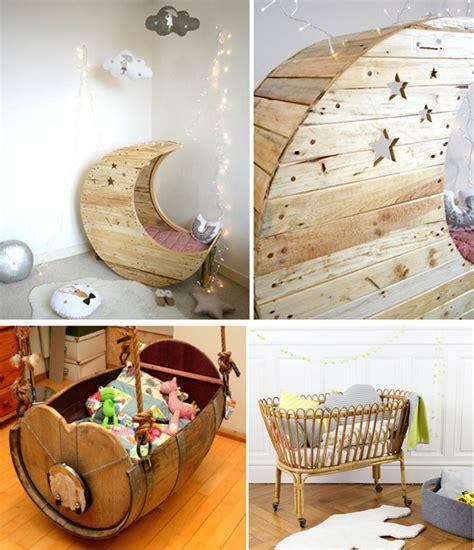 chambre de bebe original décoration chambre bébé avec matériaux de récupération