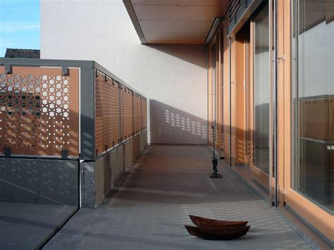 ringhiera in legno per esterni ringhiera in fibra di legno a pannelli da esterno per