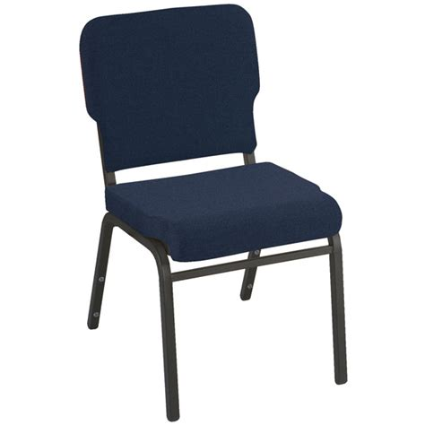 kfi seating wing back stack chair vinyl 2 quot seat