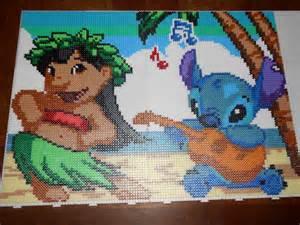 Lilo and Stitch Perler Bead Pattern