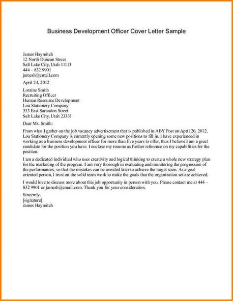 business letter sle of formal 28 images proper