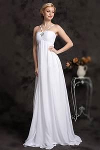 robe de mariee elegante pour femme enceinte en mousseline With robe de mariée pour femme enceinte