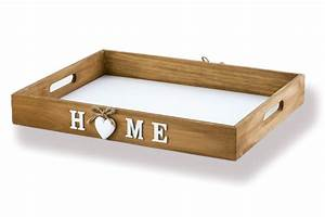 Tablett Aus Holz : fr hst ckstablett tablett serviertablett mit herz design holz ~ Buech-reservation.com Haus und Dekorationen