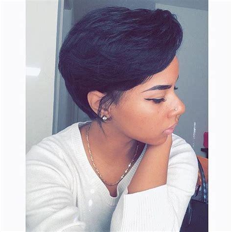 instagram analytics short hair hairstyle  keri hilson
