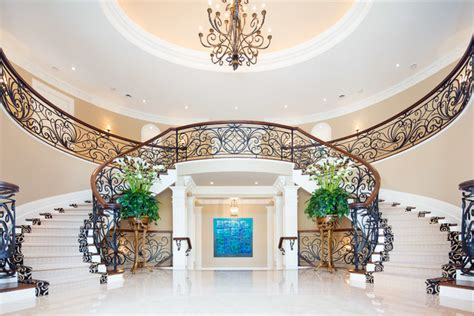 split foyer house plans world elegance traditional staircase toronto