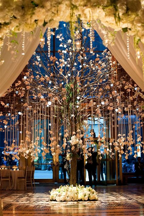 the most beautiful winter wedding reception i have ever