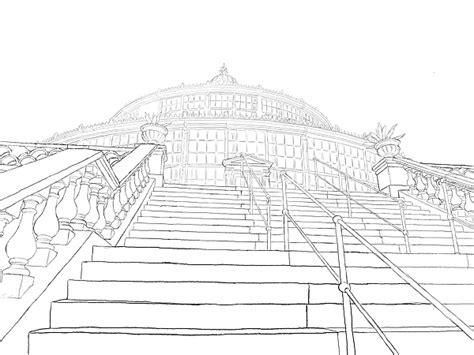 Perspektivisch Zeichnen Lernen by Eine Treppe In Der Perspektive Zeichnen