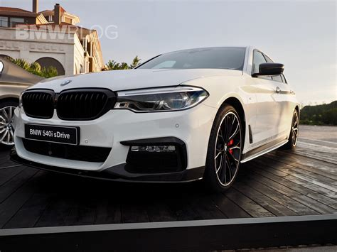 Bmw Pimps Out This 540i With A Lot Of M Performance Parts