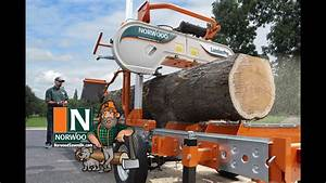Norwood Lumberpro Hd36 Portable Band Sawmill
