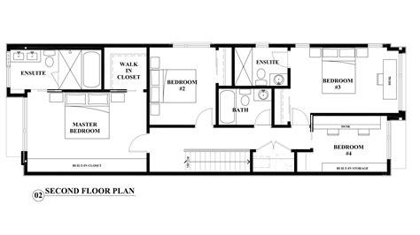 Second Floor Plan  An Interior Design Perspective On