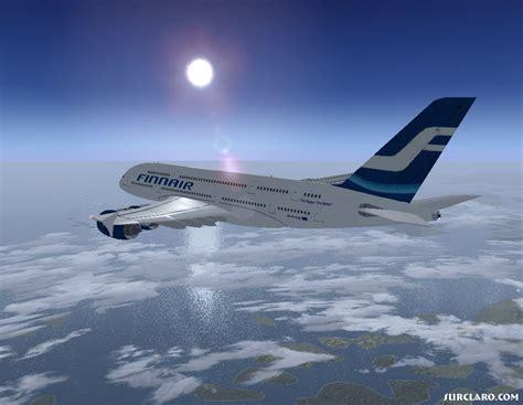 fs calm flight  finnair   surclaro