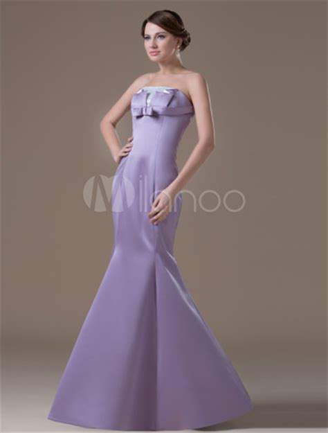 light purple maternity dress fashion light purple satin a line mermaid evening dress