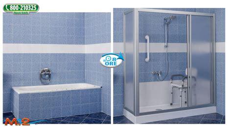 doccia al posto della vasca da bagno bagno box doccia al posto della vasca sogno di foto
