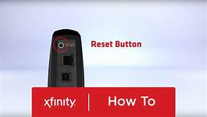 How To Reset Your Xfinity Cable And Voice Modem