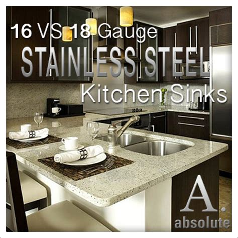 16 gauge vs 18 gauge sink for kitchen 16 gauge versus 18 gauge stainless steel sinks motavera com