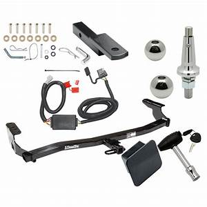 Trailer Tow Hitch For 98  Wiring Draw Bar Kit