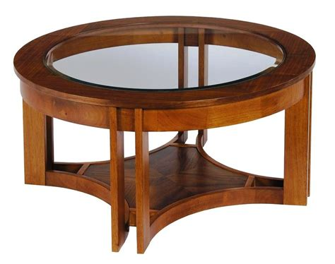 Opt for a finish like black or white to fit in. 10 Best Unique Round Wood and Glass Coffee Table