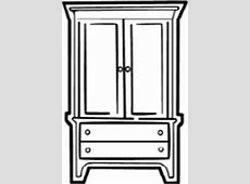 vector art, clip art, armoire, Clipart Panda Free